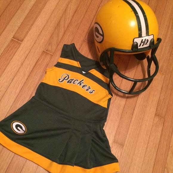 NFL Other - Girls 18 Month Packer Cheerleader Dress